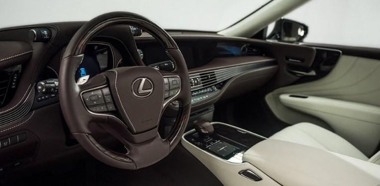 2021 Lexus LS 500 Interior