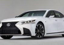 2019 Lexus LS F Exterior