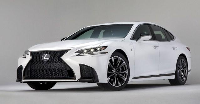 2021 Lexus LS F Exterior