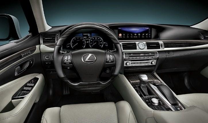 2021 Lexus LS Interior