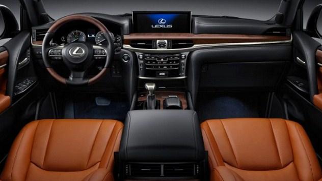 2019 Lexus LX Interior