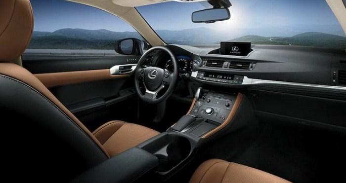 2020 Lexus CT 200h Interior