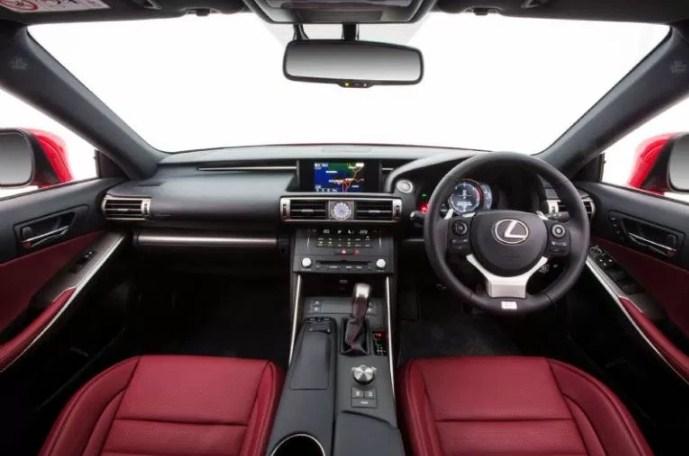 2020 Lexus IS Interior