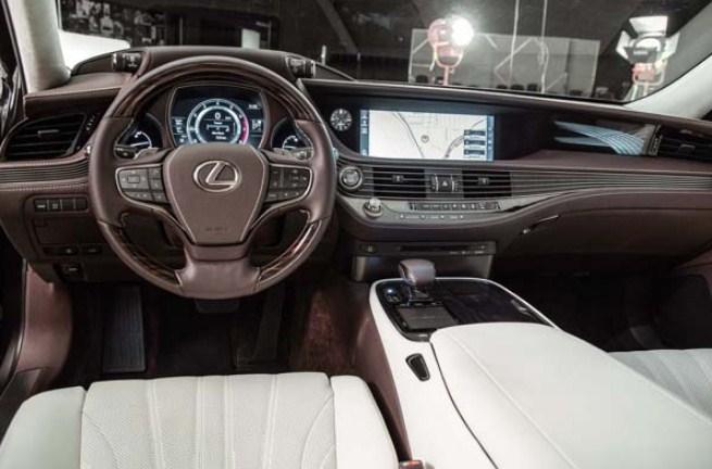 2020 Lexus LS 500h Interior