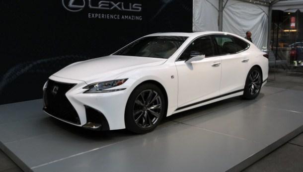 2021 Lexus IS F Exterior