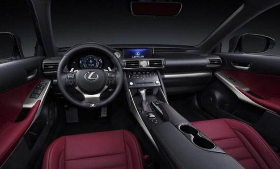 2021 Lexus IS F Interior