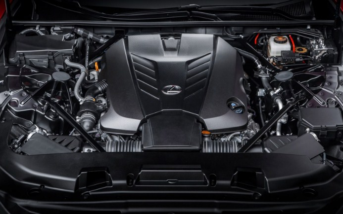 2020 Lexus LC 500 Engine