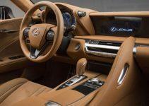 2019 Lexus LC Interior