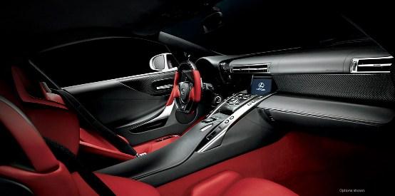2019 Lexus LFA Interior