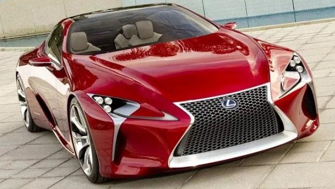 2019 Lexus LFA Exterior