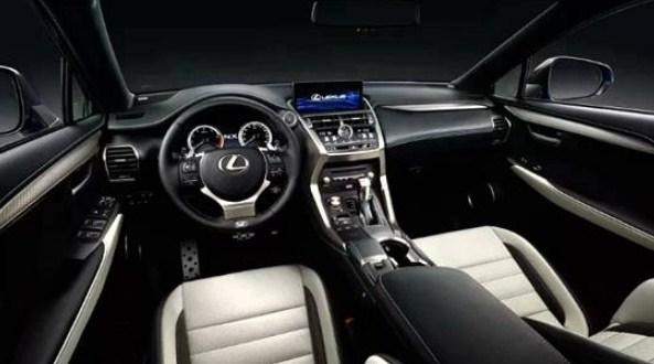 2021 Lexus NX 300h F Sport Interior