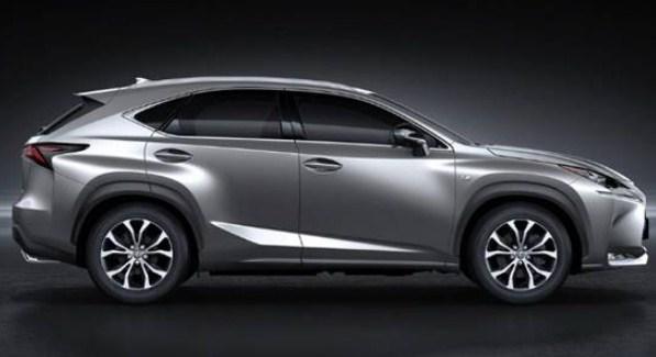 2021 Lexus NX 300h F Sport Exterior