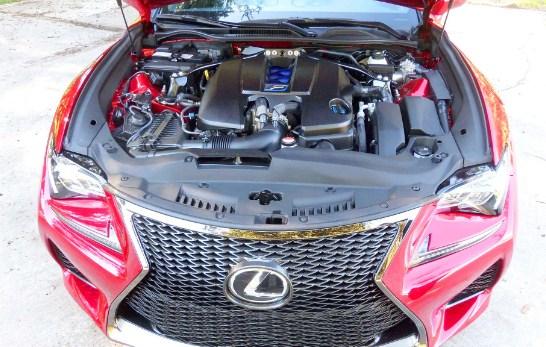 2021 Lexus RC 350 Engine