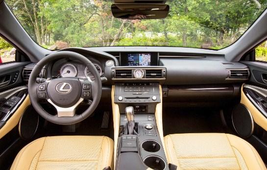 2021 Lexus RC 350 Interior