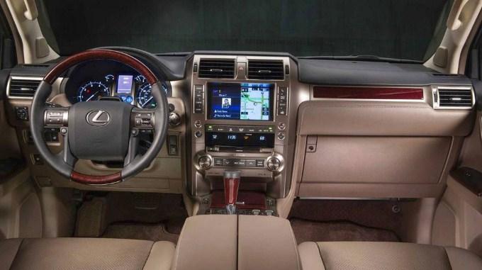 2020 Lexus GX Interior