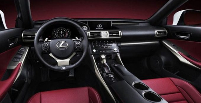 2020 Lexus IS 250 Interior