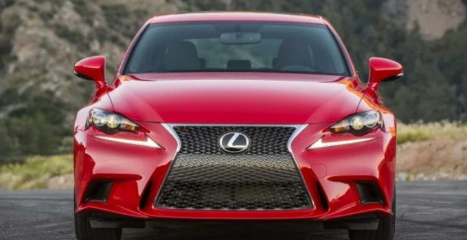 2020 Lexus IS Exterior