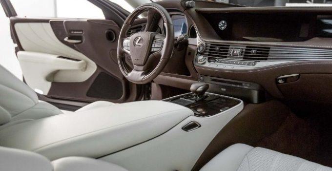 2020 Lexus LS Interior