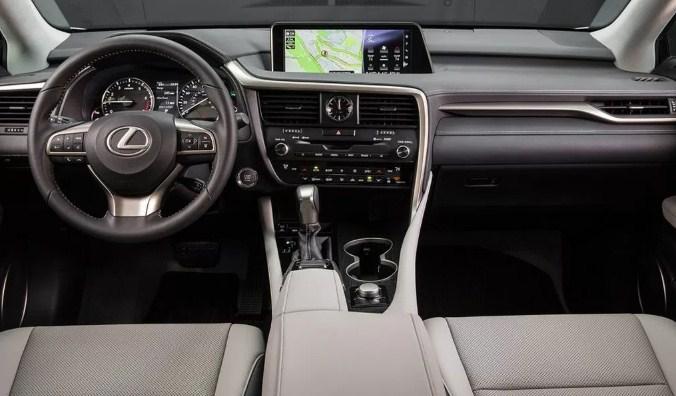 2021 Lexus RX 350 F Interior