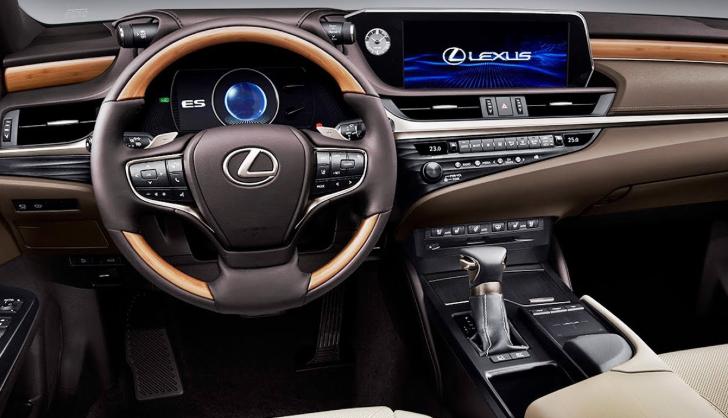 2021 Lexus ES Interior