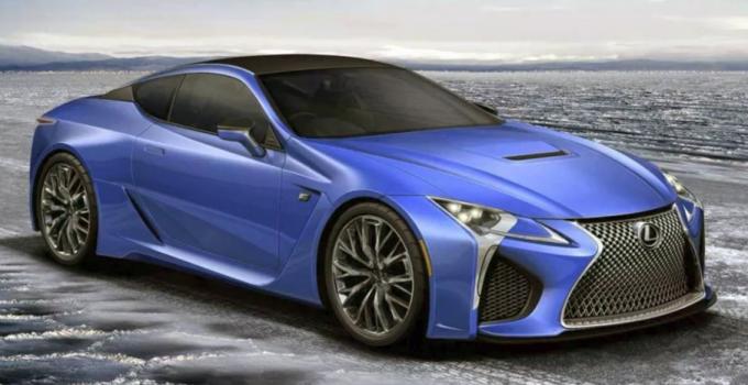 2019 Lexus LC-F