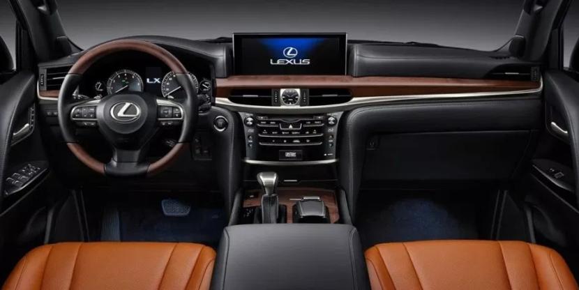 2021 Lexus LX 570 Interior