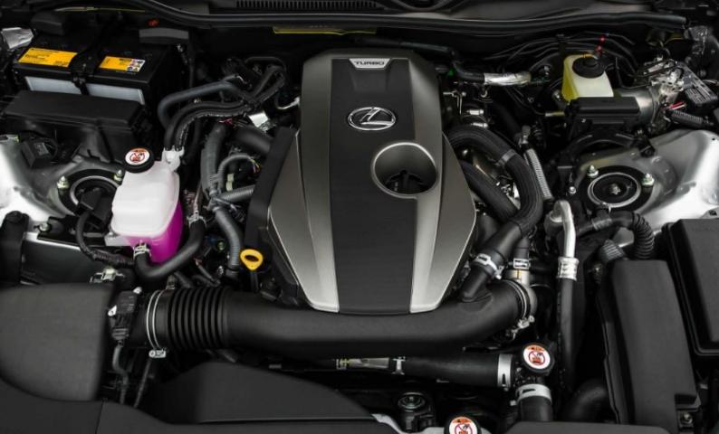 2019 Lexus RX 350L Engine