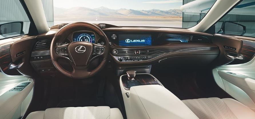 Lexus 2019 LS 500 Interior