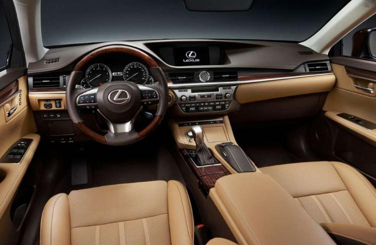 2021 Lexus ES 300h Interior