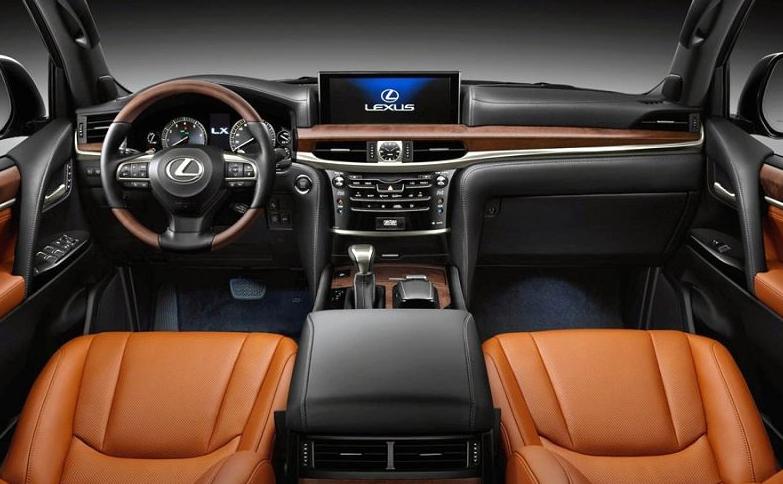 2021 Lexus GX 460 Interior