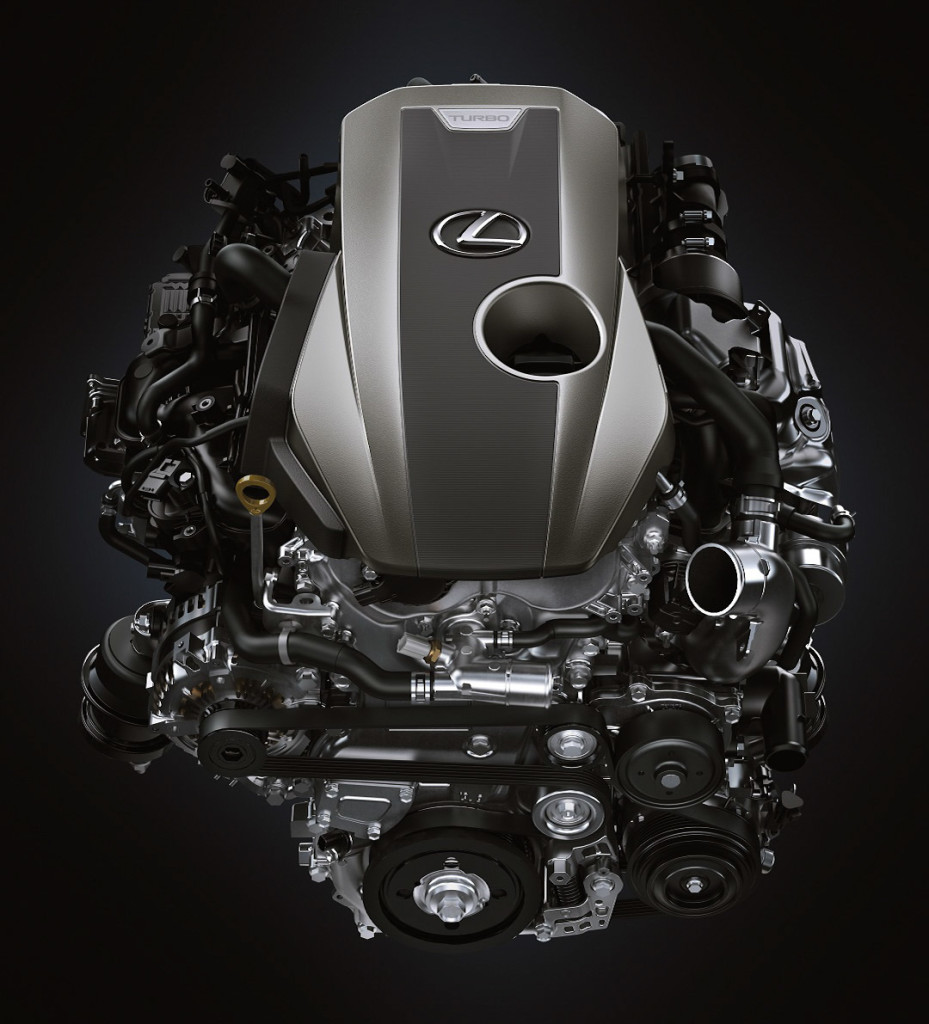 2021 Lexus IS Engine