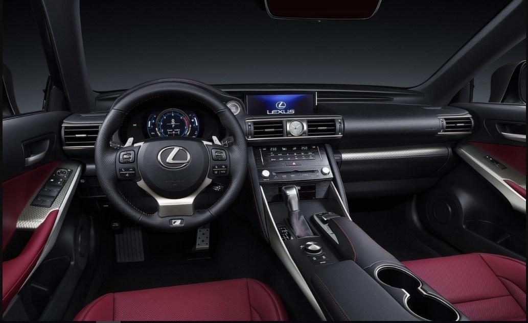 2021 Lexus IS Interior