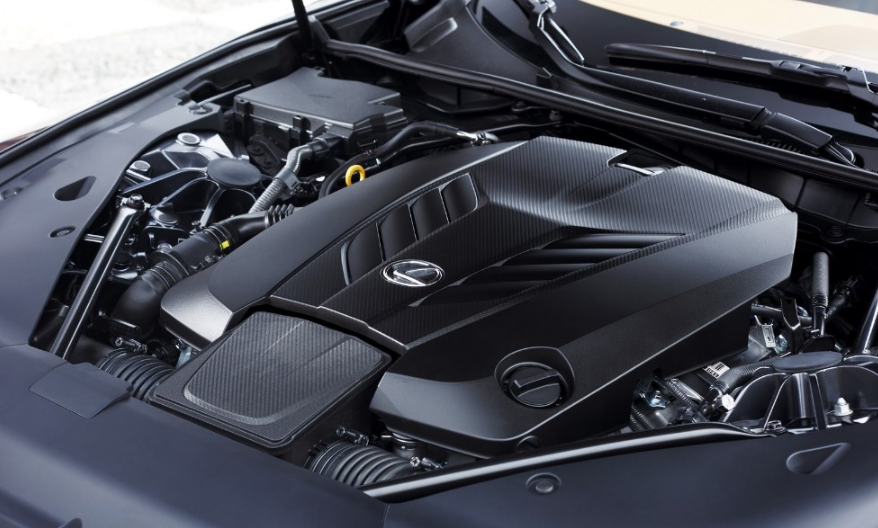 2021 Lexus LC Engine