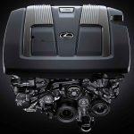 2019 Lexus LS Engine