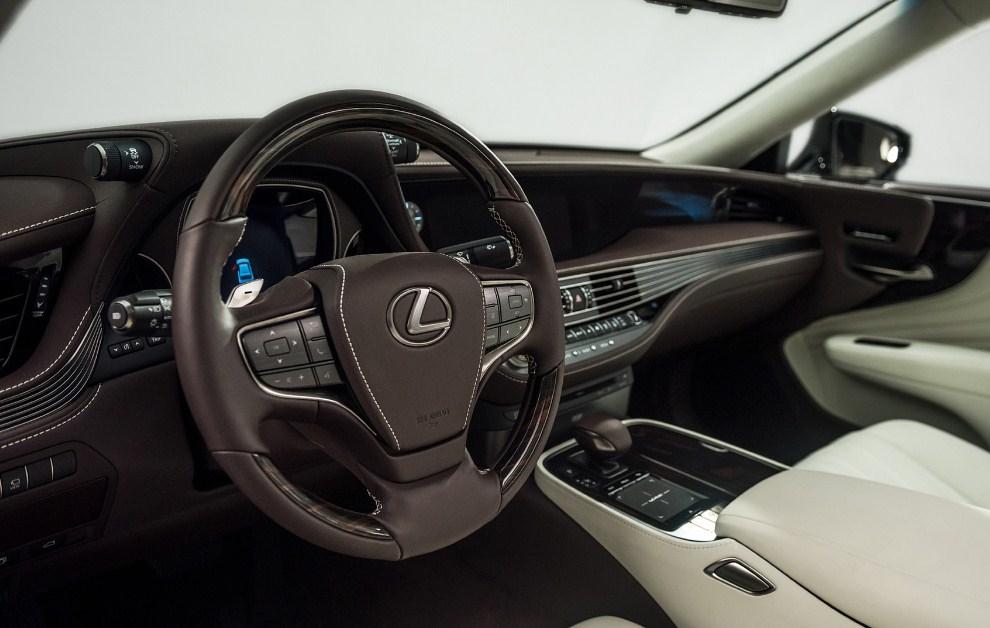 2019 Lexus LS Interior