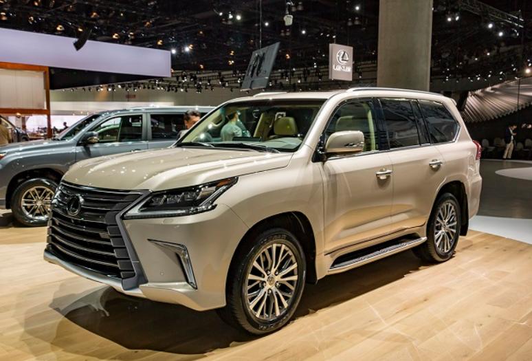 2021 Lexus LX Exterior