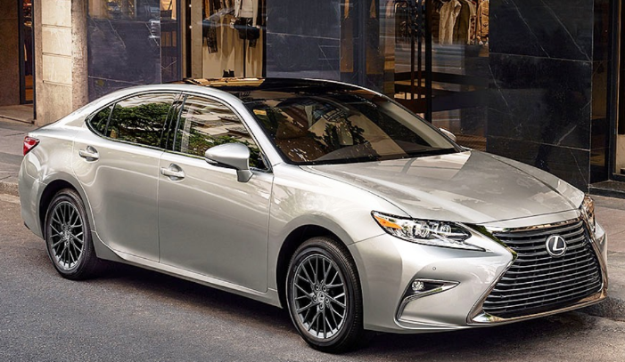 2020 lexus es 300h f sport changes