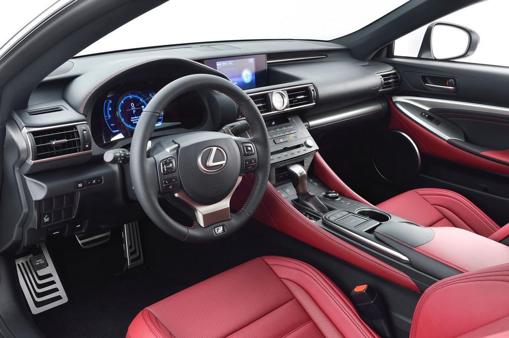 2021 Lexus RC Interior