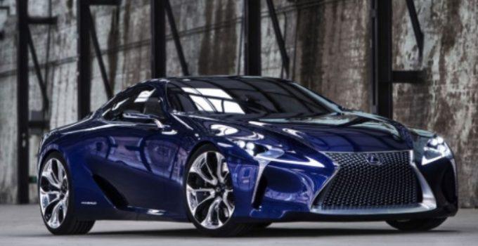 2021 Lexus RC F Exterior