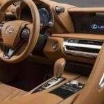 2021 Lexus LC Interior