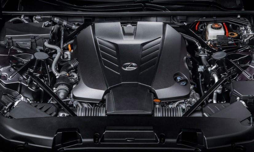 2021 Lexus LC500 Engine
