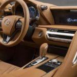 2021 Lexus LC500 Interior
