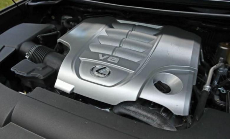 2021 Lexus LX Engine