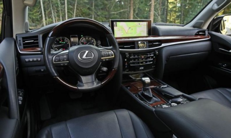 2021 Lexus LX Interior