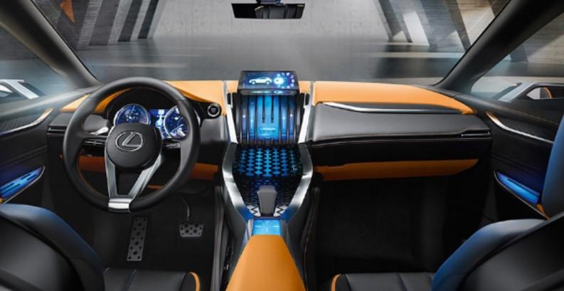 2021 Lexus NX300 Interior