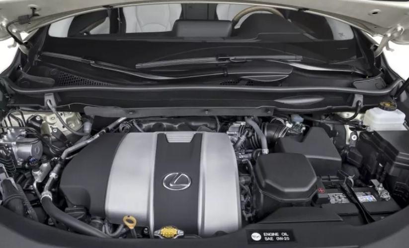 2021 Lexus RX 350 Engine