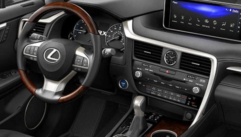 2021 Lexus RX450h Interior