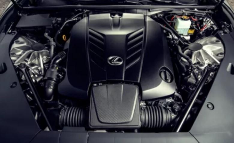 2021 Lexus TX Engine