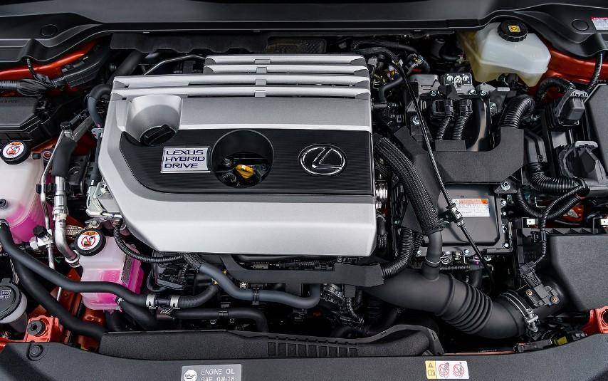 2021 Lexus UX250H Engine