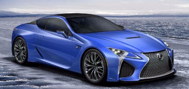 2021 Lexus LC 500h Exterior